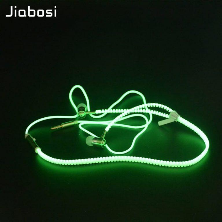 Светящиеся наушники Jiabosi