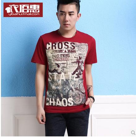 Мужская футболка Cross State на Aliexpress